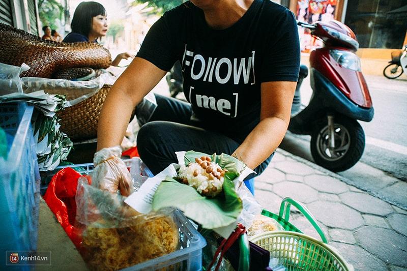 Những món xôi sáng ở Hà Nội