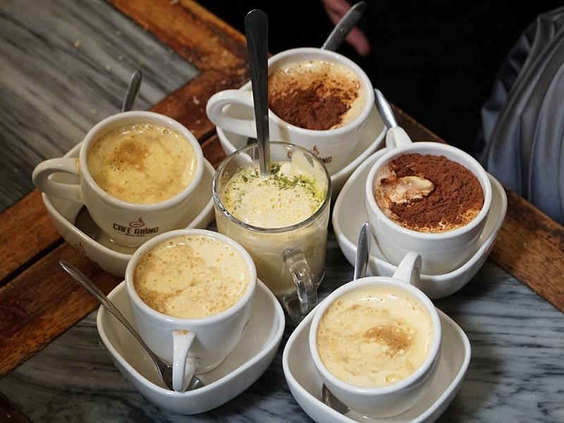 Cà phê trứng Giảng