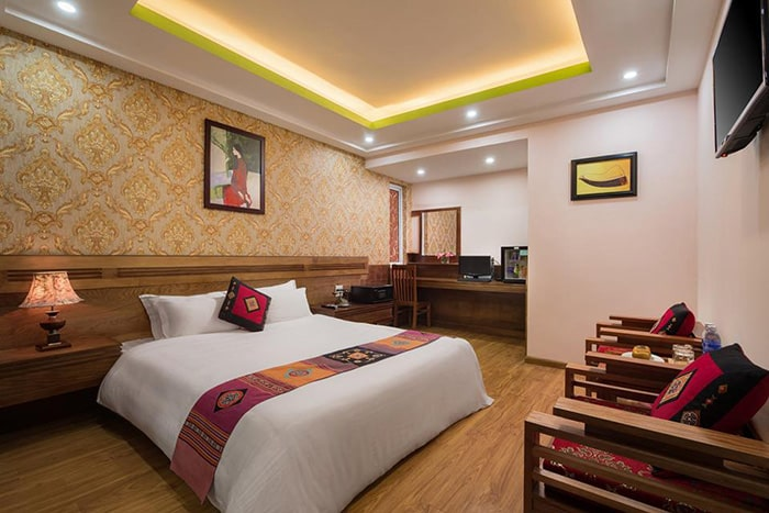 Phòng ở khách sạn Luxury Sapa