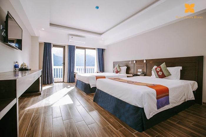 Phòng ở khách sạn Charm Hotel