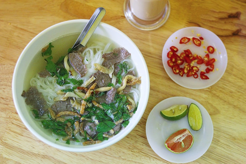 Phở là món ăn đặc trưng nổi tiếng ở Hà Nội