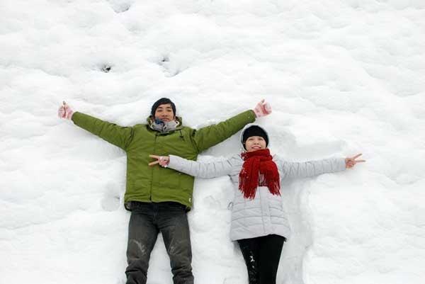 Du lịch Sa Pa mùa đông ngắm tuyết rơi