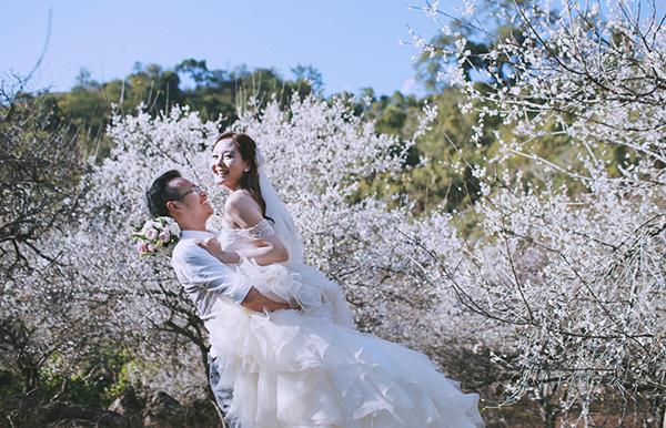 """Rộ sắc trắng, mùa hoa mận Mộc Châu đang vào thời điểm """"vàng"""""""