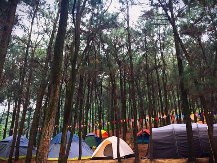 Kinh nghiệm cắm trại núi Hàm Lợn