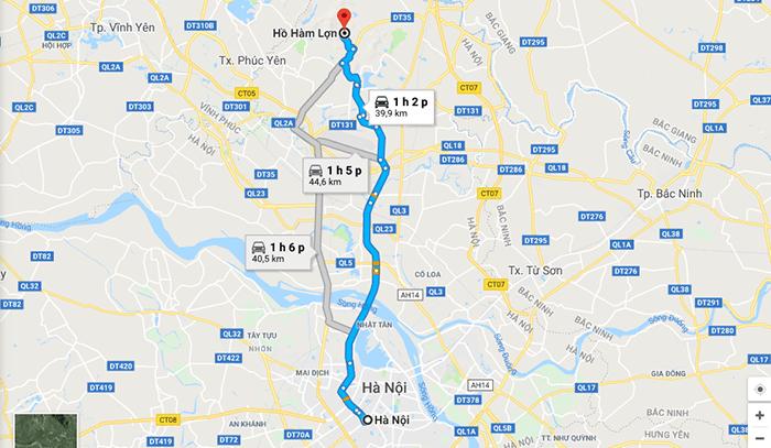 Cung đường đi phượt Hàm Lợn từ Hà Nội