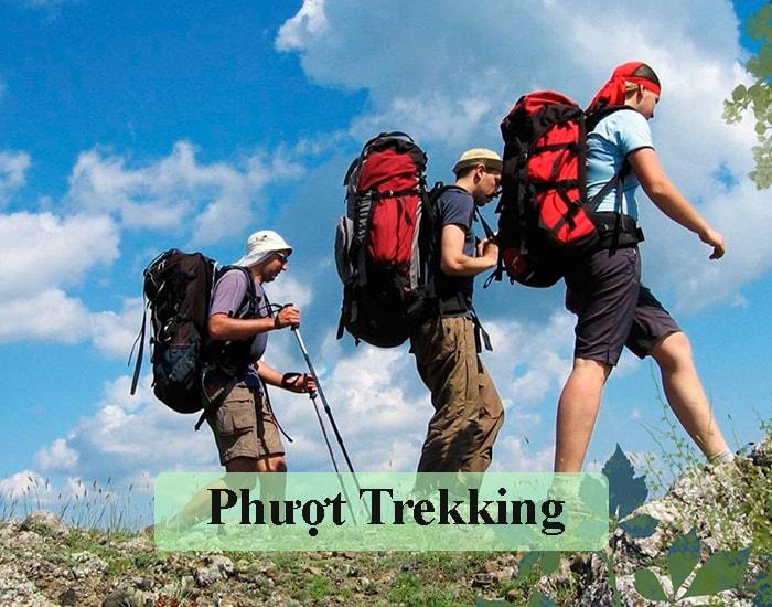 Phượt trekking là gì