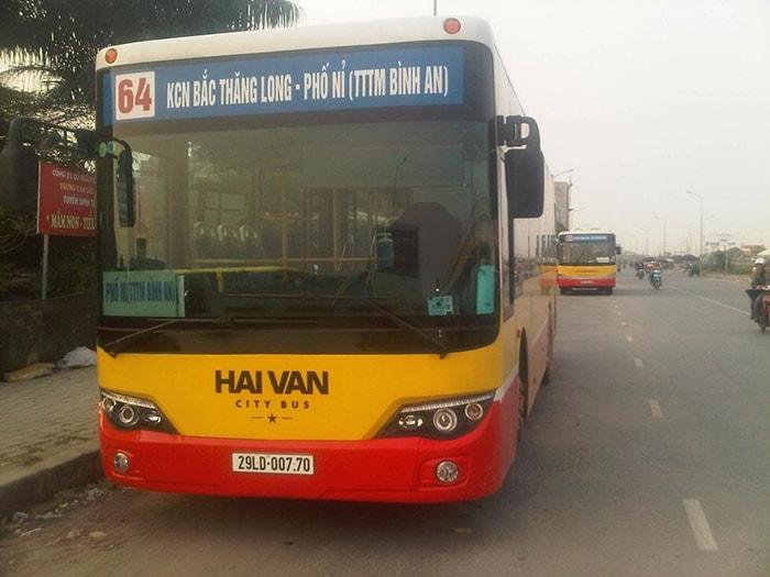 Đi phượt Hàm Lợn trên xe bus số 64