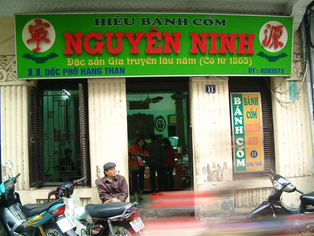 Bánh Cốm Hàng Than – Nguyên Ninh