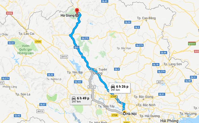 Cung đường phượt Hà Nội - Hà Giang