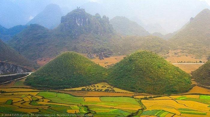 Núi đôi Cô Tiên - Quản Bạ