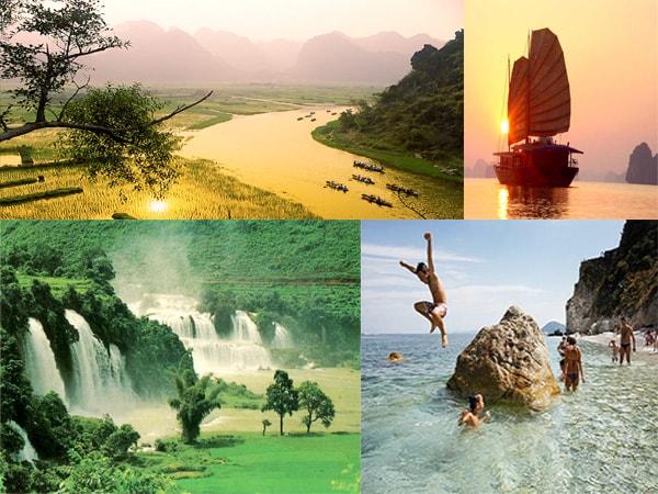 Top 10 địa điểm du lịch đẹp nhất ở miền Bắc