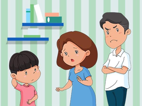 Mách mẹ những cách ứng phó với tình huống con không chịu chào người lớn