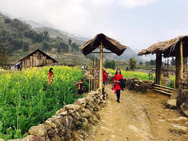 Bản Cát Cát là ngôi làng đẹp nhất Tây Bắc ở Sapa
