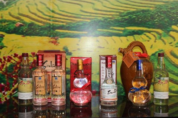 Đặc sản rượu Shan Lùng Sapa