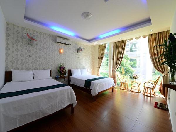 Một góc phòng tại Catba Island Hotel