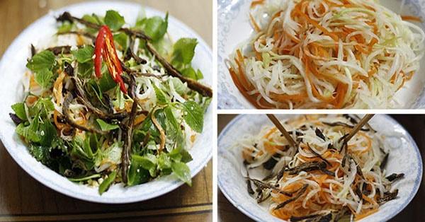 Rau xôi nộm - Món ngon nổi tiếng ở Mai Châu
