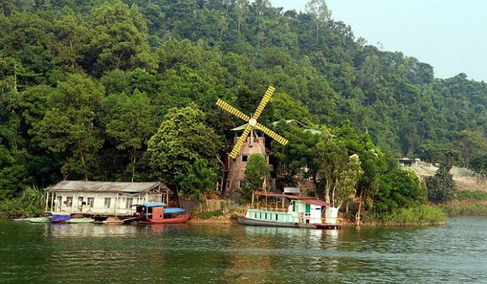 Nhà nghỉ cối xay gió ở Thung Nai