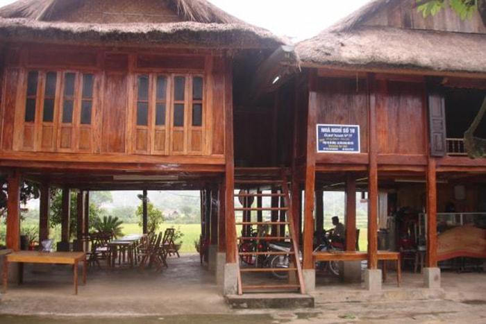 Nhà nghỉ ở Đảo Dừa, Hòa Bình