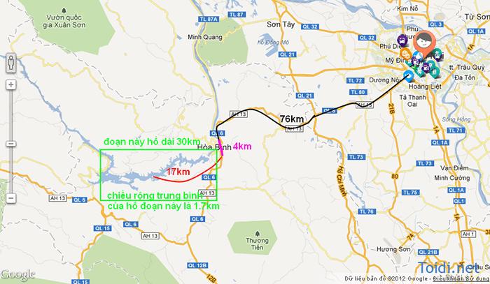 Đường lên Thung Nai, Hòa Bình từ Hà Nội
