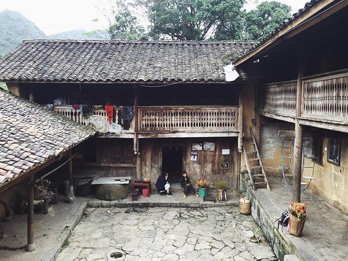 Dinh họ Vương nổi tiếng ở Hà Giang