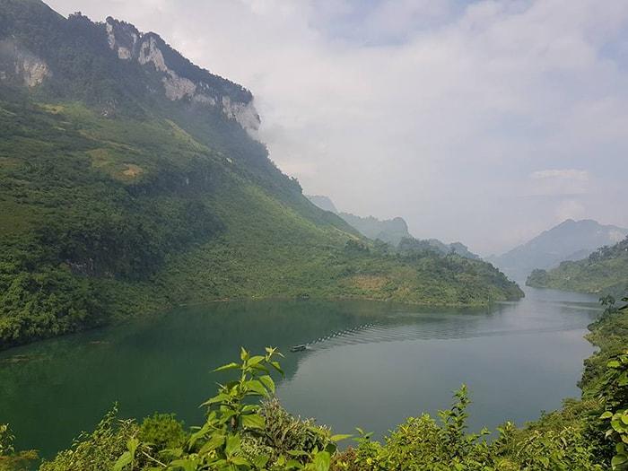 Sông Gâm ở Hà Giang