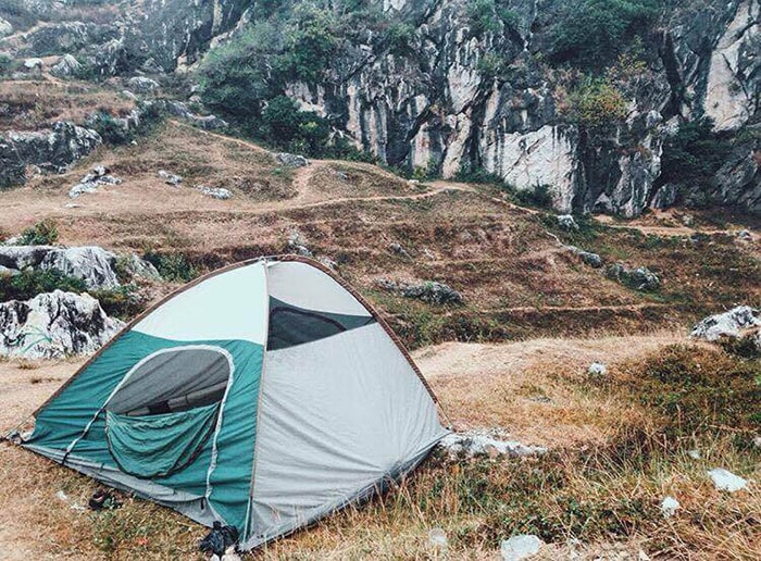 Cắm trại ở Núi Trầm