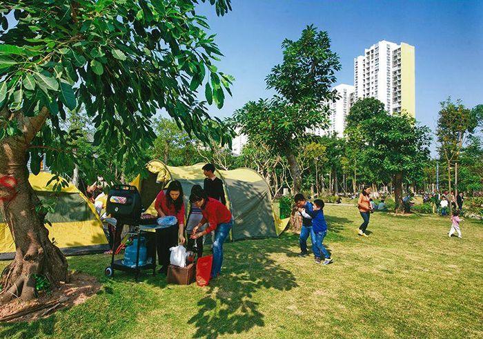 Công Viên Ecopark là điểm vui chơi, du lịch gần Hà Nội cho ngày nghỉ