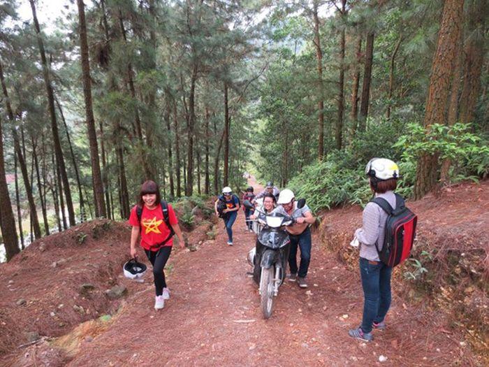 Núi Hàm Lợn là điểm vui chơi, du lịch gần Hà Nội cho ngày nghỉ