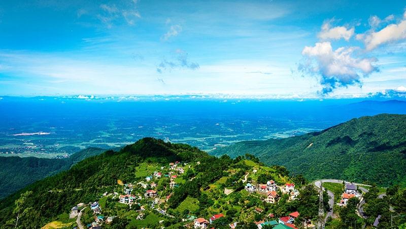Tam Đảo là địa điểm đi phượt gần Hà Nội được các bạn trẻ rất yêu thích