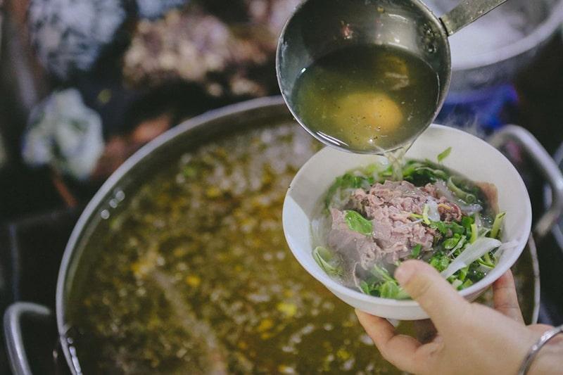Phở là món ăn đặc trưng nhất của Hà Nội