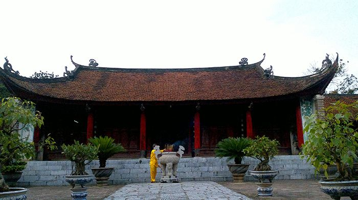 Khu di tích Thành Cổ Loa là địa điểm du lịch 1 ngày gần Hà Nội
