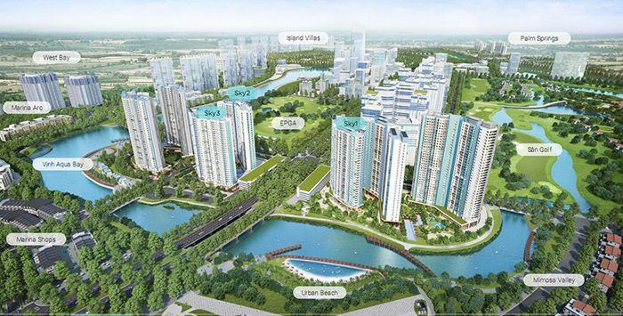 Khu đô thị sinh thái Ecopark là địa điểm du lịch 1 ngày gần Hà Nội