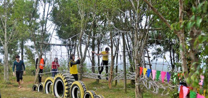 Đồng Mô là địa điểm du lịch 1 ngày gần Hà Nội