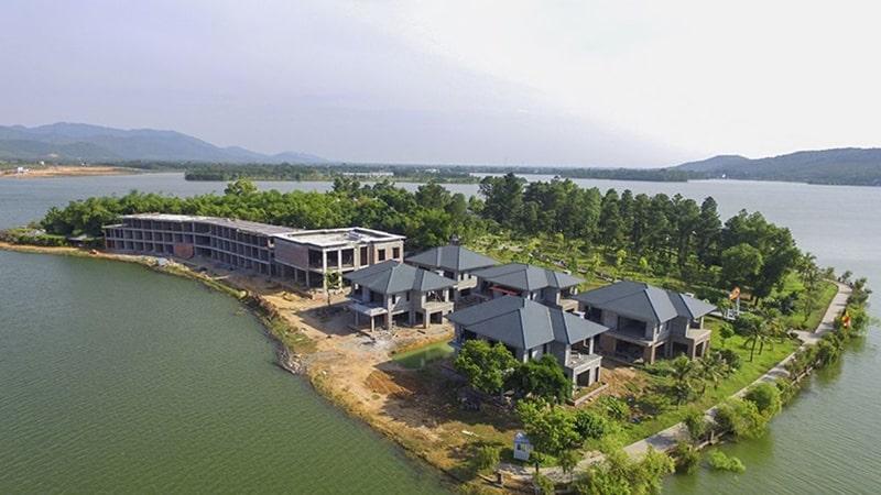 Hồ Đại Lải là 1 địa điểm dã ngoại khá gần Hà Nội