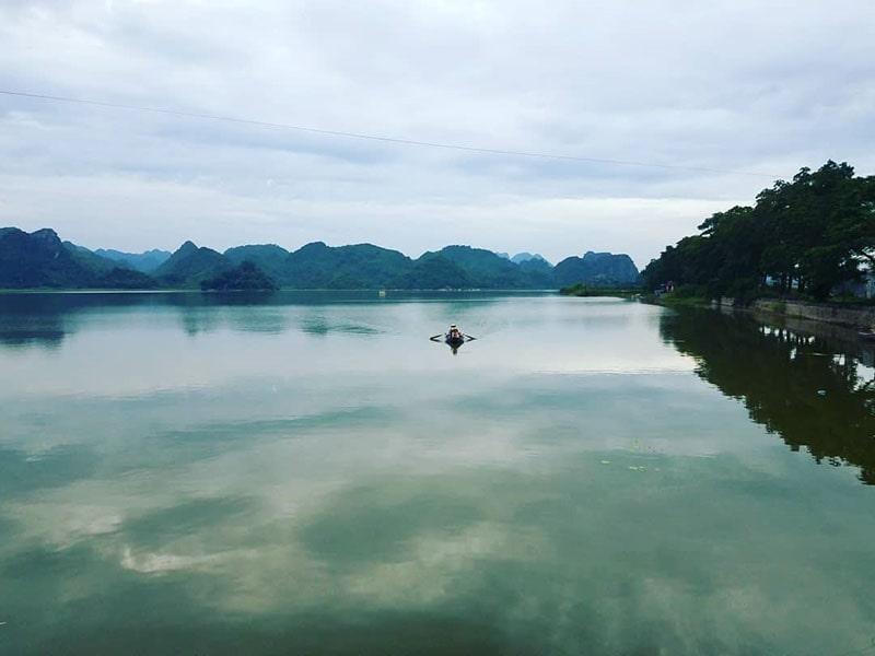 Hồ Quan Sơn thuộc Mỹ Đức, Hà Nội