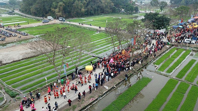 Lễ hội hàng năm ở thành Cổ Loa - Đông Anh