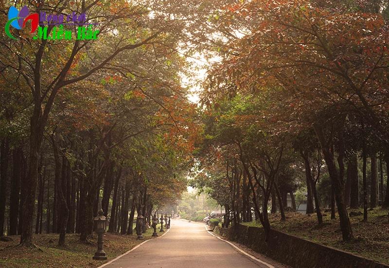 Ba Vì là địa điểm du lịch gần Hà Nội thích hợp để đi 2 ngày 1 đêm