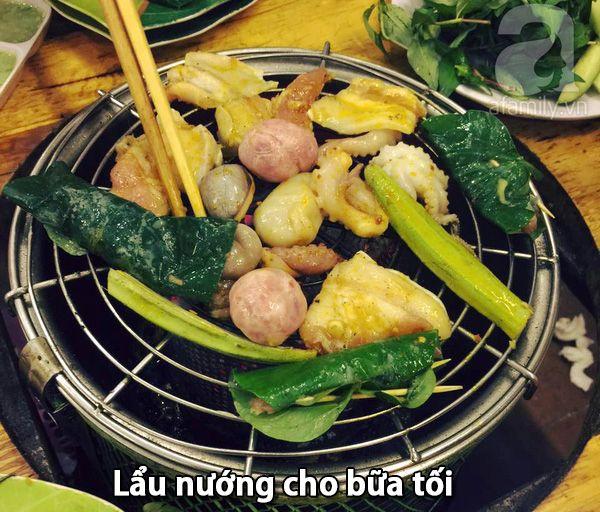 Lẩu nướng với công thức tẩm ướp thơm ngon nhất