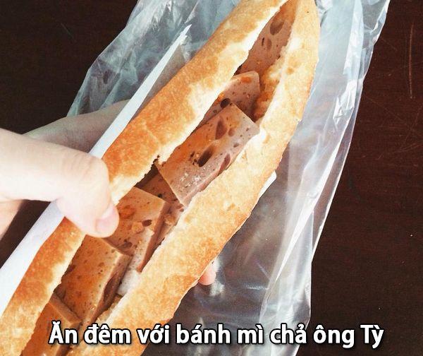 Bánh mì chả ông Tỳ chỉ 15 ngàn
