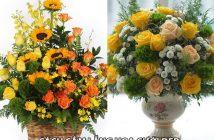 Mách bạn 5 cách cắm lẵng hoa cưới đẹp