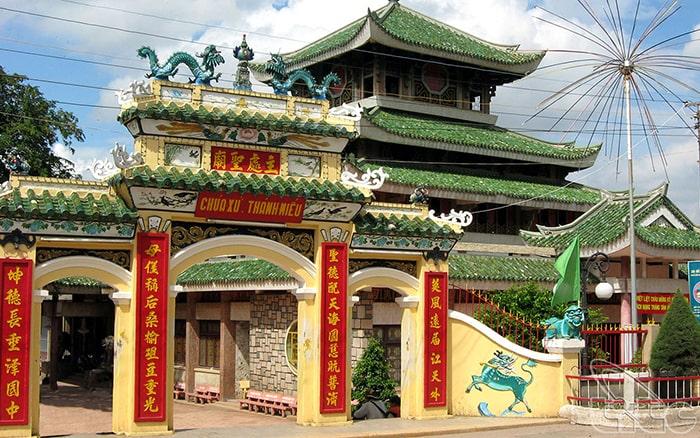 Miếu Bà Chúa Xứ - Kiến trúc tâm linh nổi tiếng của An Giang