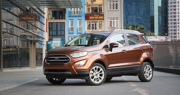 Ford Ecosport có ngoại hình mang nhiều điểm mới mẻ