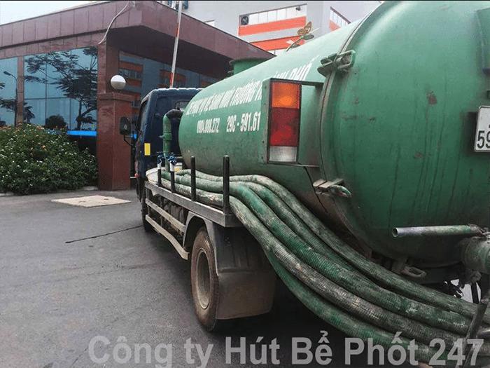 Dịch vụ thông tắc bồn cầu giá rẻ của Công ty hút bể phốt 247