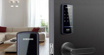 Cách lắp đặt khóa cửa vân tay tại nhà đơn giản
