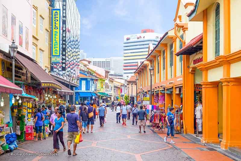 Khu Little India (Tiểu Ấn) là một trong những khu phố rực rỡ, sống động nhất ở Singapore