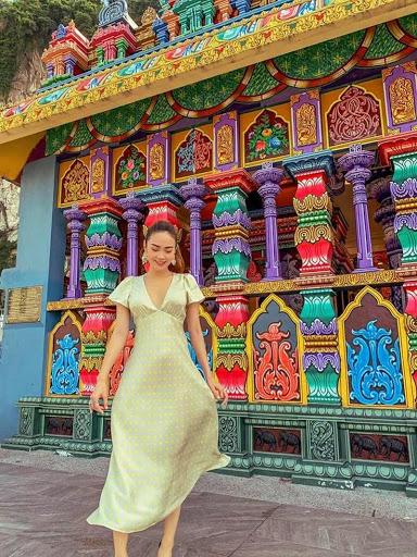 Minh Hằng Check-in những địa điểm hot tại Malaysia
