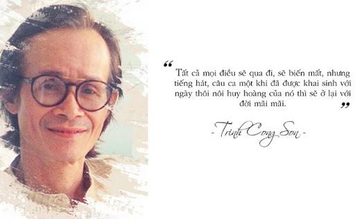 Nhạc sĩ Trịnh Công Sơn đã có rất nhiều tác phẩm hay