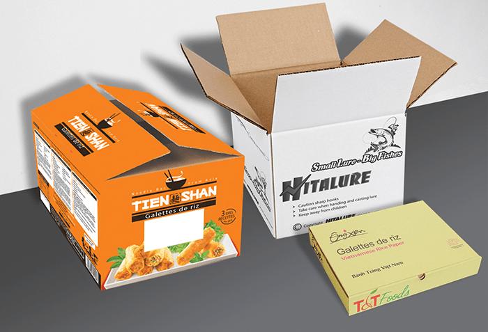 Ứng dụng in thung carton