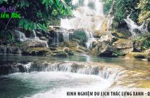 Tổng hợp kinh nghiệm du lịch Thác Lựng Xanh - Quảng Ninh
