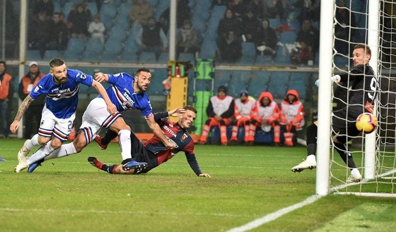 Nhận định kết quả đối đầu Sampdoria vs Genoa, 02h45 ngày 23/07